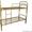 кровати металлические одноярусные для санаториев, двухъярусные для рабочих, опт - Изображение #1, Объявление #695571