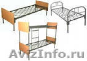 кровати металлические одноярусные для санаториев, двухъярусные для рабочих, опт - Изображение #6, Объявление #695571
