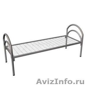 кровати металлические одноярусные для санаториев, двухъярусные для рабочих, опт - Изображение #3, Объявление #695571