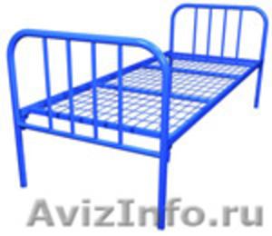 кровати металлические одноярусные для санаториев, двухъярусные для рабочих, опт - Изображение #4, Объявление #695571