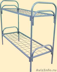 Металлические кровати для пансионата, кровати для бытовок, кровати дёшево - Изображение #3, Объявление #1479521