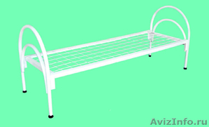 Металлические кровати для пансионата, кровати для бытовок, кровати дёшево - Изображение #4, Объявление #1479521