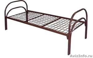 Кровати трёхъярусные для времянок, кровати металлические для бытовок, оптом - Изображение #5, Объявление #1478861
