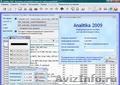 Analitika 2009 - Бесплатное ПО для учета и контроля деятельности организации