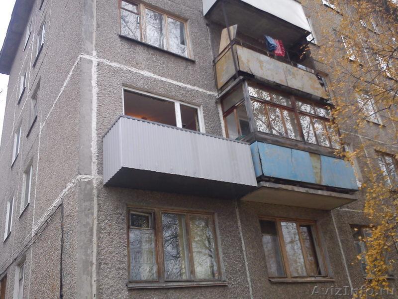 Строительство балконов на 1 этаже в перми, предлагаю, услуги.