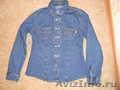 Продается джинсовая рубашка на девочку