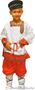 Детский карнавальный новогодний костюм