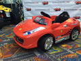 Продаем детский электромобиль феррари 8888
