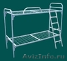 Кровати трёхъярусные для времянок, кровати металлические для бытовок, оптом - Изображение #3, Объявление #1478861
